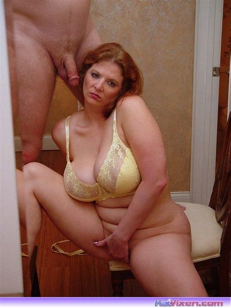Mature Red Head Hairy Pussy